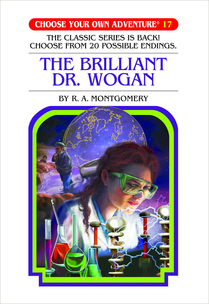 Choose Your Own Adventure #17 The Brilliant Dr. Wogan Hardcover