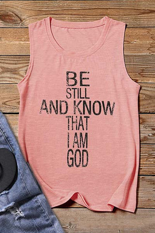 I Know That I Am God Tank Top