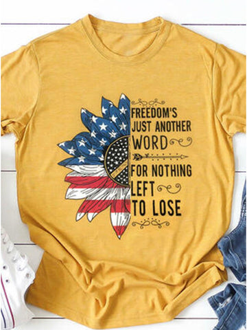 Freedom's Just Another Word T-shirt