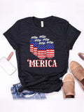 American Flag Beer T-shirt
