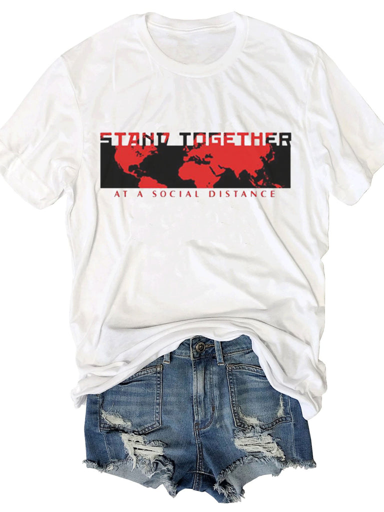 [PRE SALE] Stand Together At A Social Distance T-shirt