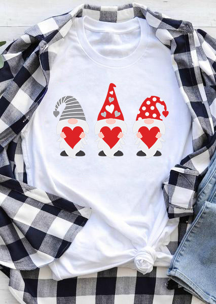 [PRE SALE] Three Gnomes Holding Hearts T-shirt