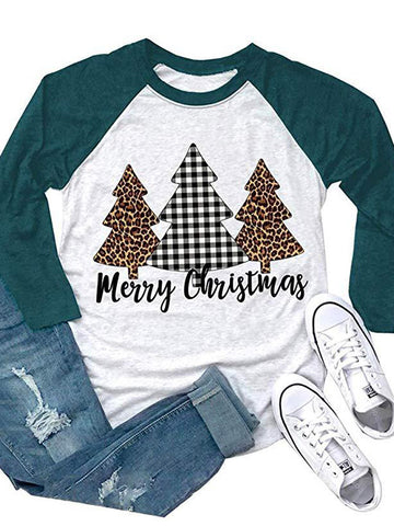 Merry Christmas Tree T-shirt