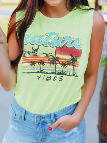 Nature Vibes Tank Top