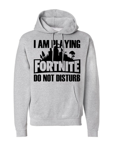 Men's I'm Playing Fornite Pocket Hoodie -717