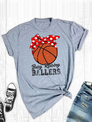 Basketball Busy Raising T-shirt