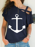 Boat Anchor Short Sleeve T-Shirt