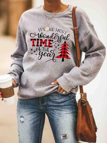 It's The Most Wonderful Time Of The Year Sweatshirt
