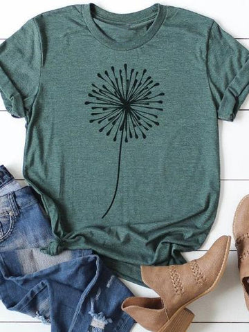 Dandelion Short T-Shirt