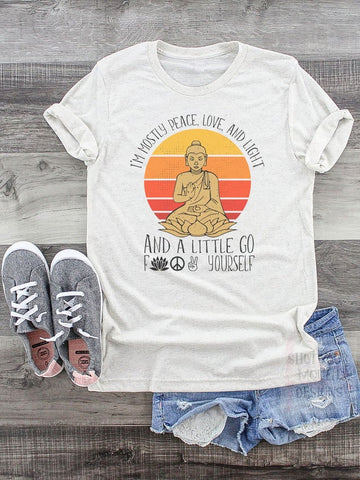 Peace Love And Light Tee