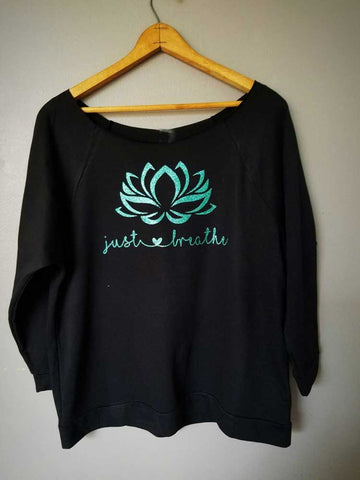 [PRE-SALE] Just Breathe Flower Long Sleeve Tee