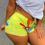 Fluorescent Summer Fashion Hot Pants