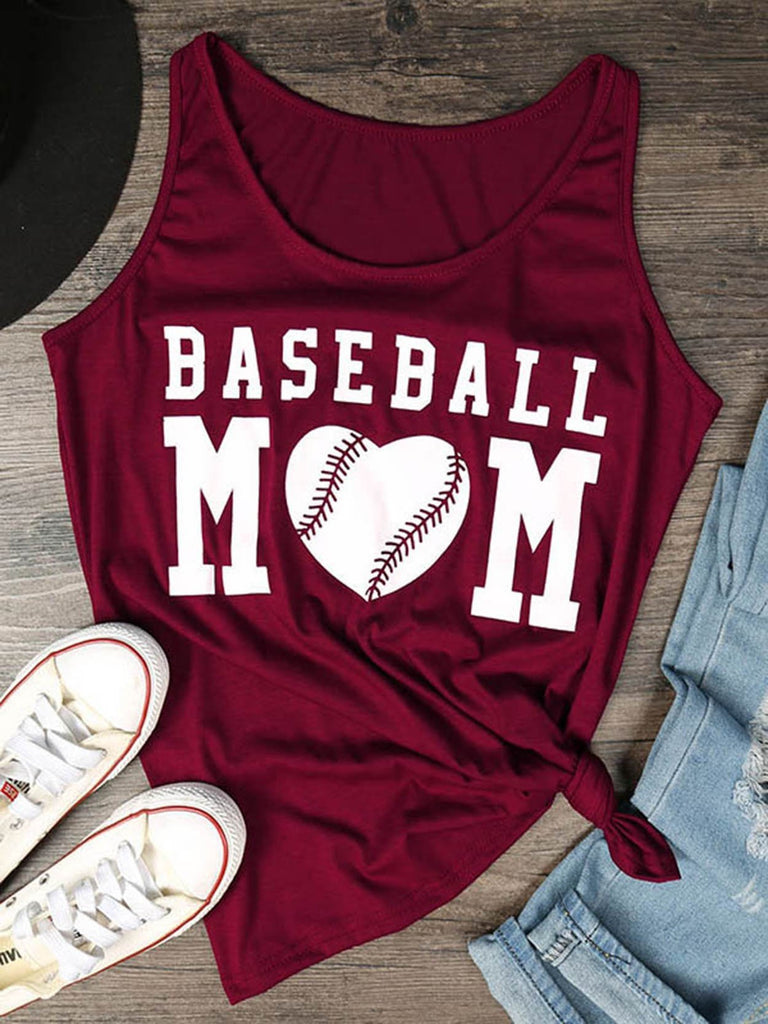 Baseball Mom Tank Top