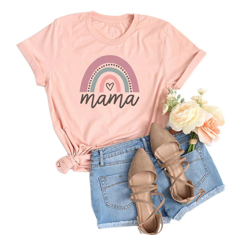 Love Mama Rainbow T-shirt