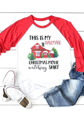 Hallmark Christmas Movie Watching T-shirt