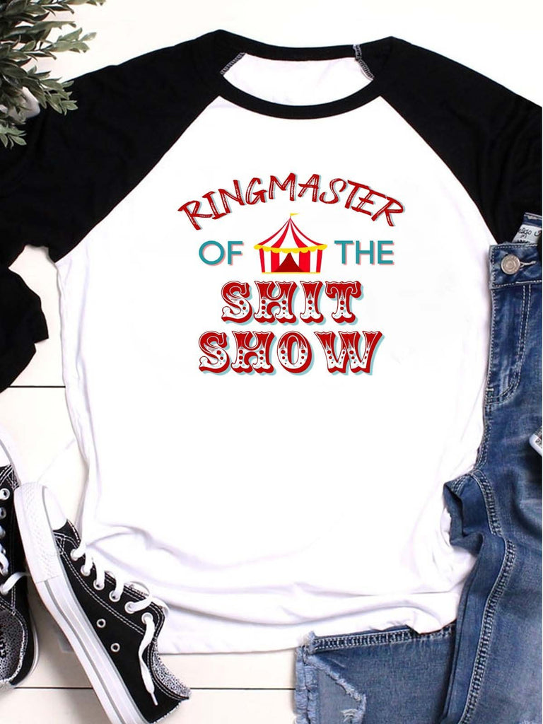 Ringmaster Of The Shitshow T-shirt
