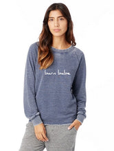 Load image into Gallery viewer, Barn Babe Women's Equestrian Summer Long Sleeve Sweatshirt in Soft Pink
