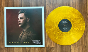 """Simpler Times"" - Special Edition Gold Vinyl Record by Nathan Thomas"