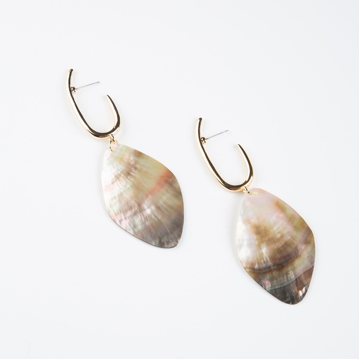 curAtiv proudly gives you Bali Hoop and Large Shell Drop Earrings Earrings.