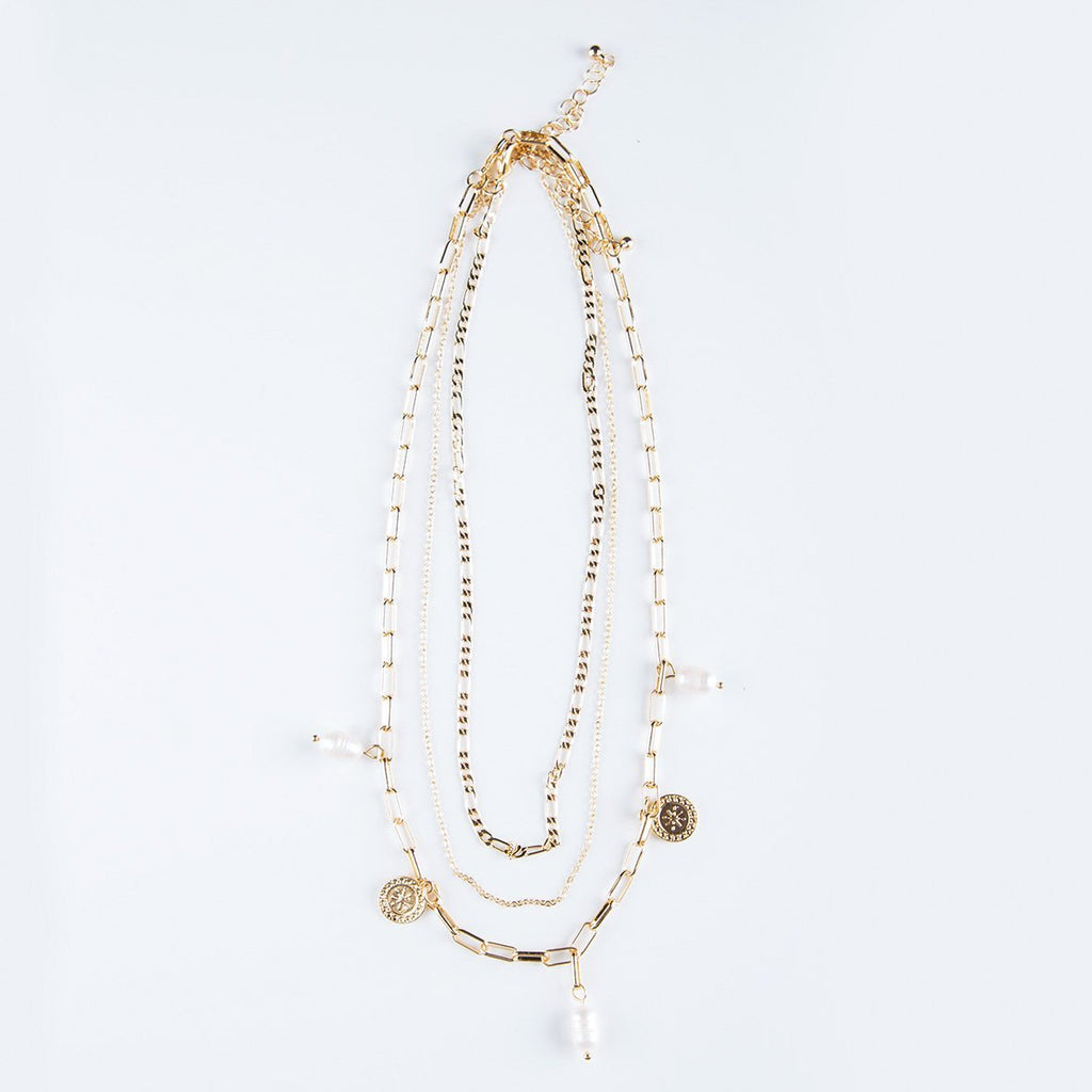 curAtiv proudly gives you Colombo Coin and Freshwater Pearl Necklace Necklaces.