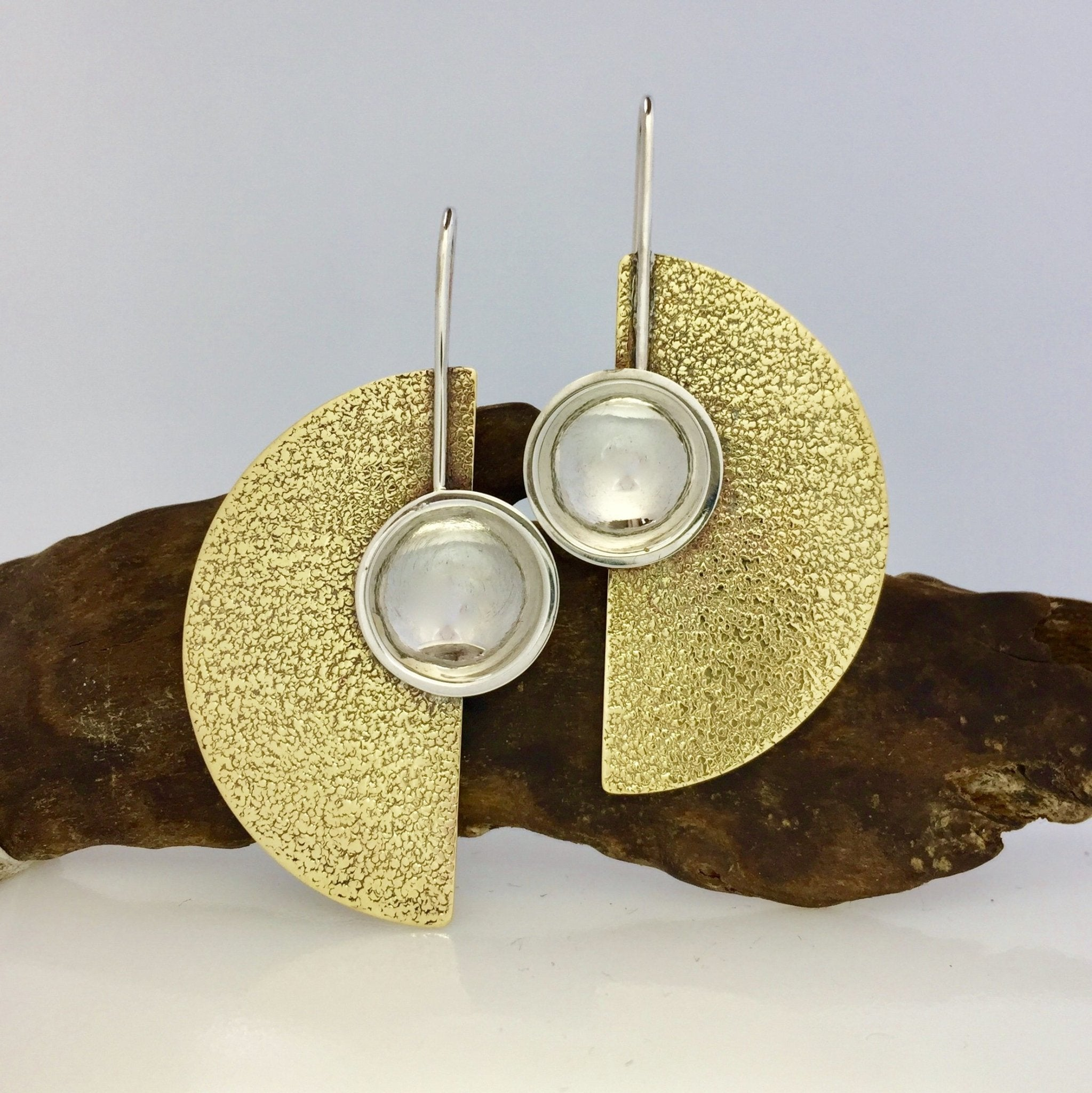 curAtiv proudly gives you Solar Eclipse Earrings Earrings.