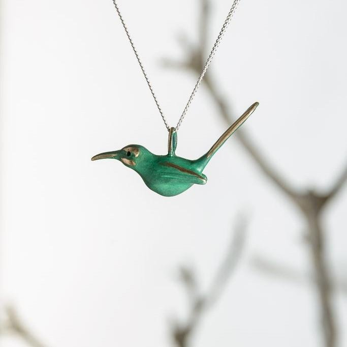 curAtiv proudly gives you Sugarbird Mini Sculpture Pendants.
