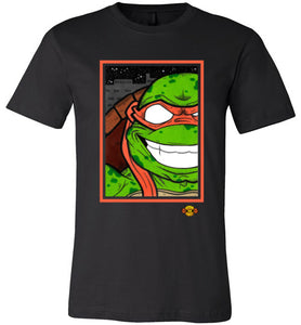 Mikey TMNT: Fitted T-Shirt (Soft)