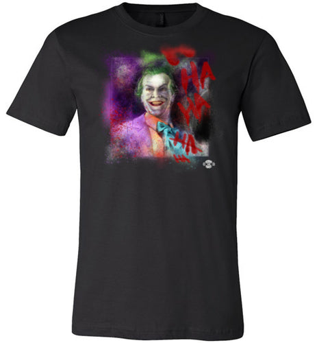 Jack As Joker: Fited T-Shirt (Soft)