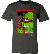 Raph TMNT: Fitted T-Shirt (Soft)
