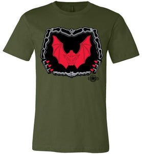 Battle Damage Horde Undamaged: Fitted T-Shirt (Soft)