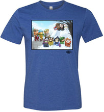 "MOTU Kids ""Winter Ambush"": Fitted T-Shirt (Soft)"