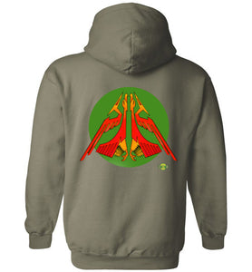 Raider of Wind v1: Hoodie (Back)