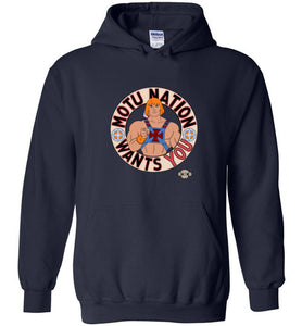 MOTU Nation Want's YOU: Hoodie