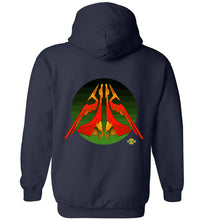 Raider of Wind v2: Hoodie (Back)