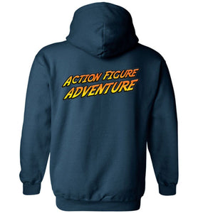 Action Figure Adventure: Hoodie (Back)
