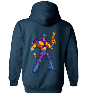 Many Faces: Hoodie (BACK)