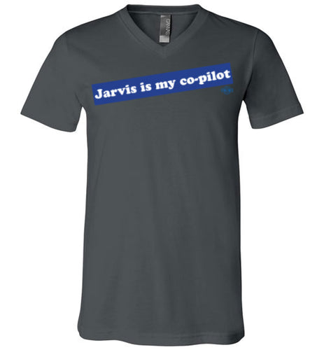 Jarvis is my co-pilot: V-Neck