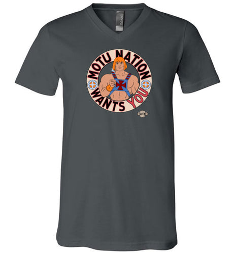 MOTU Nation Want's YOU: V-Neck