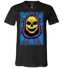 Happy Skelly: V-Neck T-Shirt