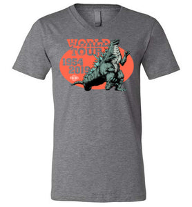 Godzilla World Tour: V-Neck