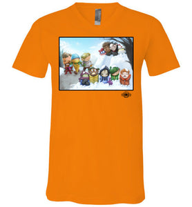 "MOTU Kids ""Winter Ambush"": V-Neck"