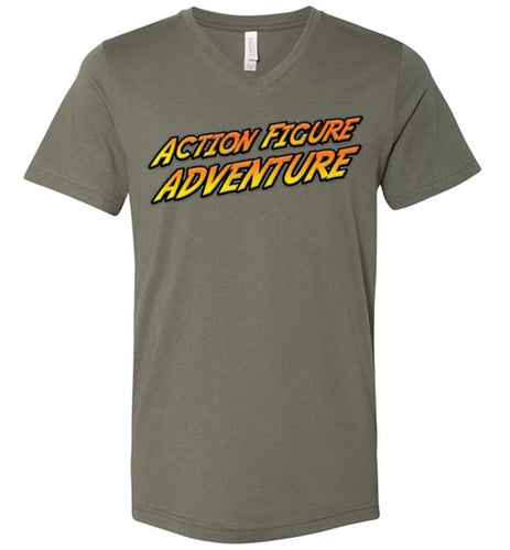 Action Figure Adventure: V Neck