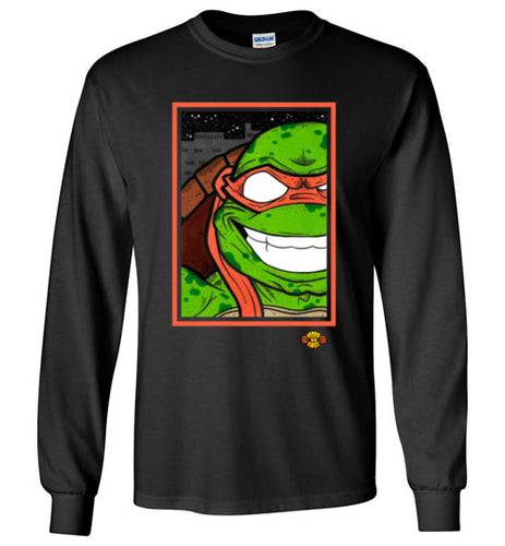 Mikey TMNT: Long Sleeve T-Shirt