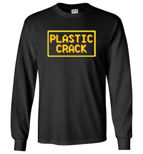 Plastic Crack: Long Sleeve T-Shirt