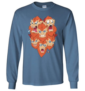 Man E Beasts: Long Sleeve T-Shirt