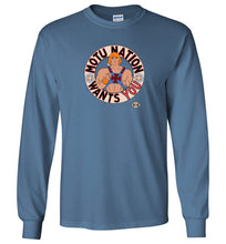MOTU Nation Want's YOU: Long Sleeve T-Shirt