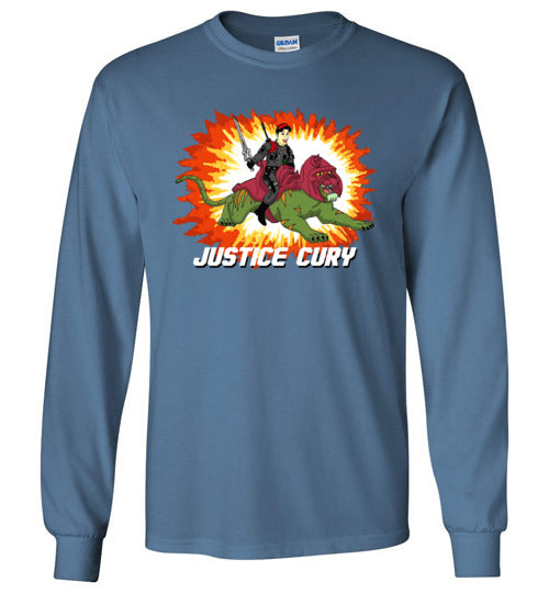 Justice Cury: Long Sleeve T-Shirt