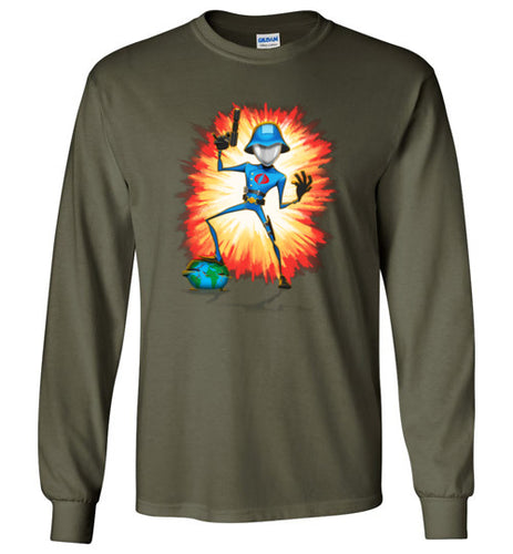 Cobra in Command: Long Sleeve T-Shirt