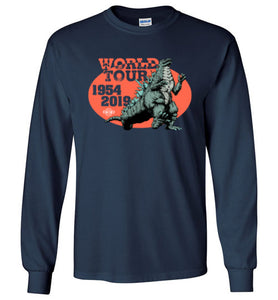 Godzilla World Tour: Long Sleeve T-Shirt