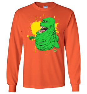 Slimer v1: Long Sleeve T-Shirt